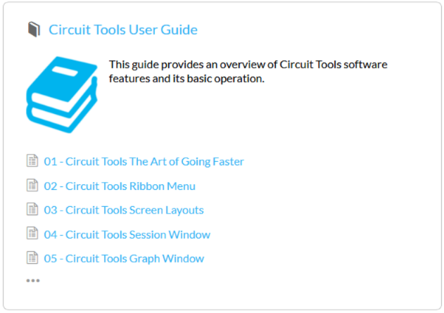 CT user guide RL Support