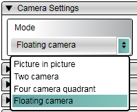 VVB-Setup Floating Camera