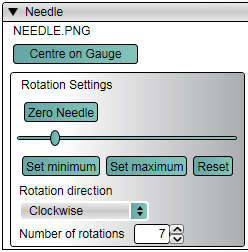 VVB-Setup Needle Rotations